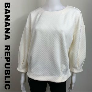 Banana republic blouse size small